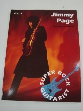 Jimmy Page: Vocal/guitar tablature version