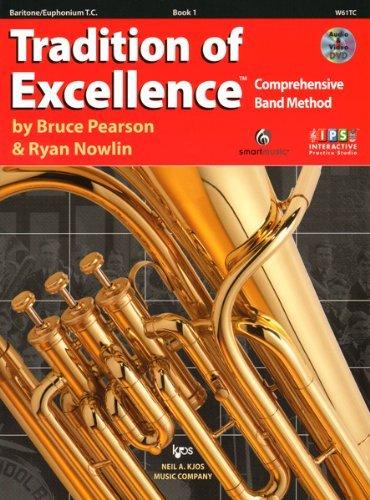 W61TC - Tradition of Excellence Book 1 - Baritone/Euphonium T.C.