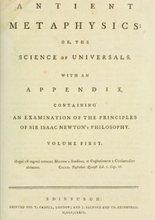 Ebook Antient Metaphysics, or the Science of Universals by Lord Monboddo, James Burnett PDF!