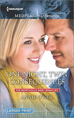 One Night...Twin consequences (The Monticello Baby Miracles #1)