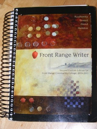 Front Range Writer - Second Custom Edition for Front Range Community College 2010-2011