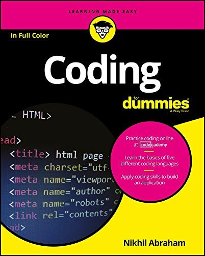 Coding For Dummies (For Dummies