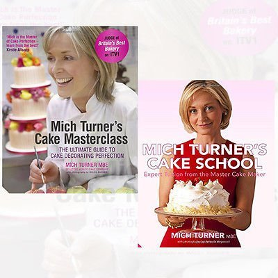 Mich Turner Cake Books Collection 2 Books Bundle