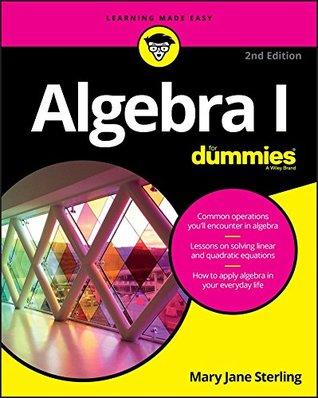Descargar de google books Algebra I For Dummies
