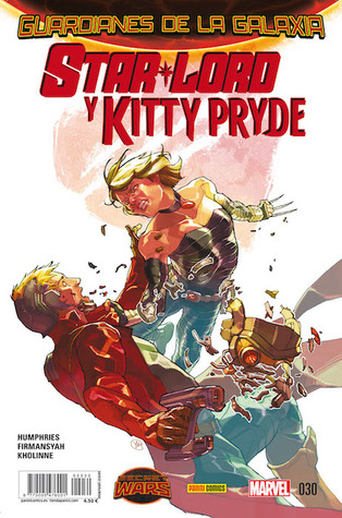 Star-lord y kitty pryde by Sam Humphries