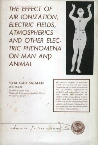 The Effect of Air Ionization, Electric Fields, Atmospherics, and Other Electric Phenomena on Man and Animal