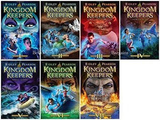 7 Books: Kingdom Keepers Collection - Disney After Dark, Disney at Dawn, Disney in Shadow, Power Play, Shell Game, Dark Passage, The Insider