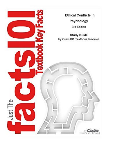 e-Study Guide for: Ethical Conflicts in Psychology by Donald N. Bersoff, ISBN 9781591470502