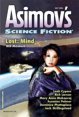 Asimov's Science Fiction, July 2016 (Asimov's Science Fiction, #486)