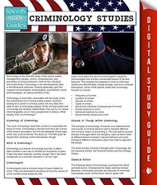 Criminology Studies