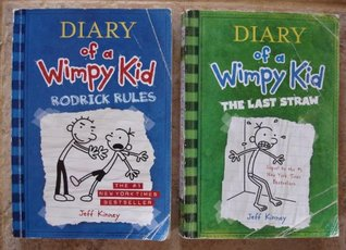 Jeff Kinney Set of 2 Books