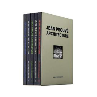 Jean Prouve Architecture: 5 Volume Box Set No. 2 por Jean Prouvé