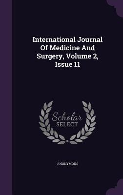 International Journal of Medicine and Surgery, Volume 2, Issue 11