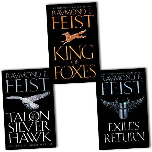 Raymond E. Feist Conclave of Shadows 3 Books Collection Pack Set RRP: £23.97