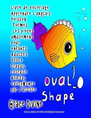 Livre de Coloriage Apprendre l'Anglais Poisson Formes Les Pi�ces Amusement Pour Enfants Adultes �cole Travail Retraite H�pital Everywehre Par l'Artiste