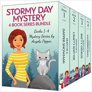Stormy Day Mystery Books 1 4 By Angela Pepper