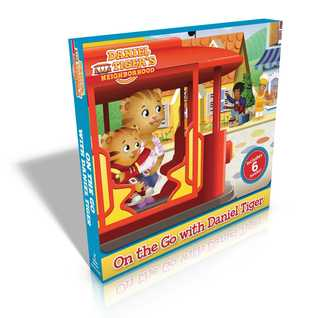 On the Go with Daniel Tiger!: You Are Special, Daniel Tiger!; Daniel Goes to the Playground; Daniel Tries a New Food; Daniel's First Fireworks; Daniel's New Friend; Nighttime in the Neighborhood