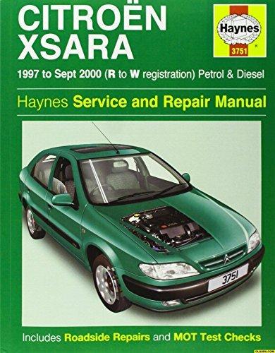 Citroen Xsara Service And Repair Manual