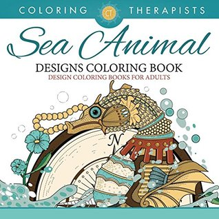 Sea Animal Designs Coloring Book