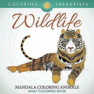 Wildlife Mandala Coloring Animals