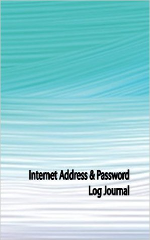 Internet Address & Password Log Journal