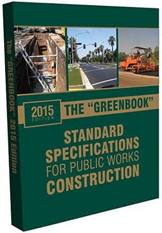 2015 Greenbook: Standard Specifications for Public Works Construction