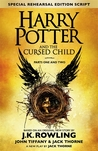 Book cover for Harry Potter and the Cursed Child