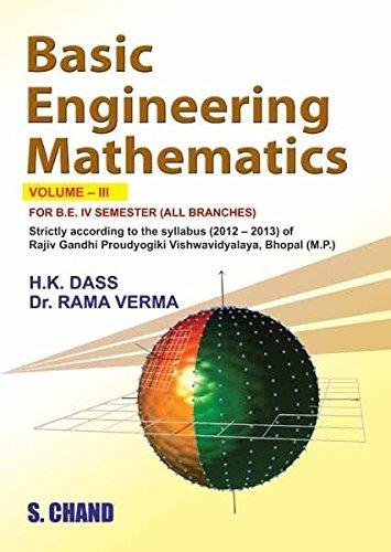 Basics of Engineering Mathematics Vol-III