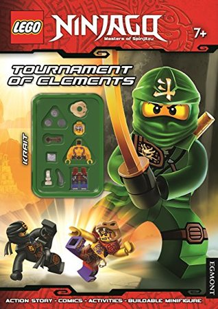 Lego® Ninjago: Tournament of Elements (Activity Book with Minifigure)
