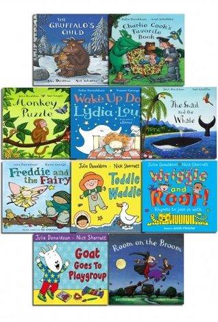 Julia Donaldson X 10 Book Collection Set