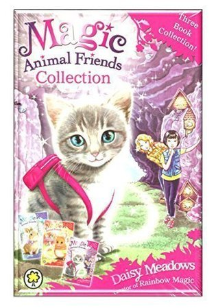 Magic Animal Friends Collection Box Set by Daisy Meadows (Creator of Rainbow Magic) Includes: 1) Bella Tabbypaw in Trouble 2) Molly Twinkletail Runs Away 3) Lucy Longwhiskers Gets Lost (RRP: £14.97)