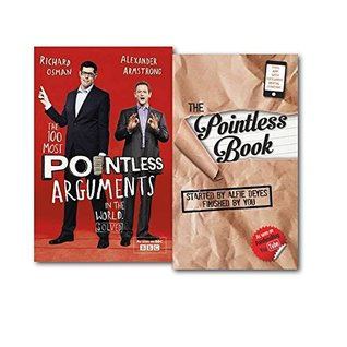 The Pointless 2 Books Collection Set (The Pointless Book & [Hardcover]The 100 Most Pointless Arguments in the World