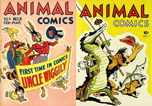 Animal Comics 1-2. First time in comics Uncle Wiggily.