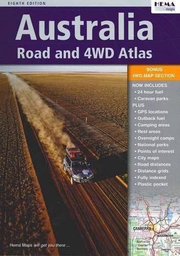 Australia Road & 4WD Atlas Spiral