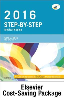 Step-By-Step Medical Coding 2016 Edition - Text, Workbook, 2017 ICD-10-CM for Hospitals Professional Edition, 2017 ICD-10-PCs Professional Edition, 2016 HCPCS Professional Edition and AMA 2016 CPT Professional Edition Package