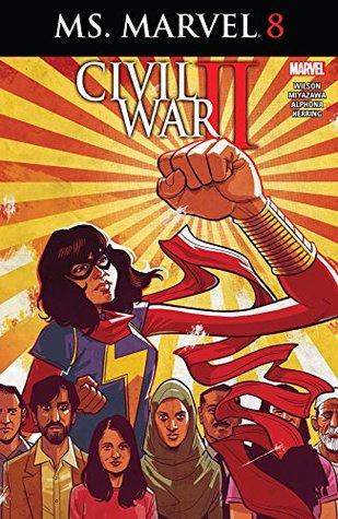Ms. Marvel (2015-2019) #8