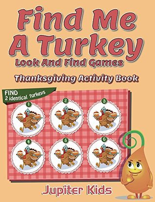 find me a turkey look and find games thanksgiving activity book by