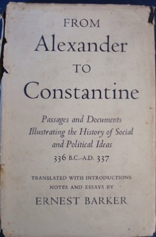From Alexander To Constantine