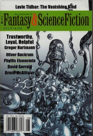 The Magazine of Fantasy & Science Fiction, July/August 2016 (The Magazine of Fantasy & Science Fiction, #726)