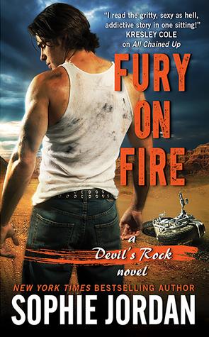 Fury on Fire (Devil's Rock, #3)