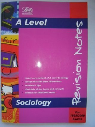 Advanced Level Sociology: Revision Notes