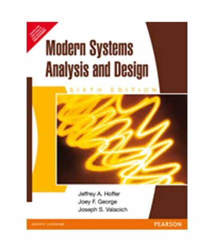 Modern Systems Analysis and Design-6th Edition