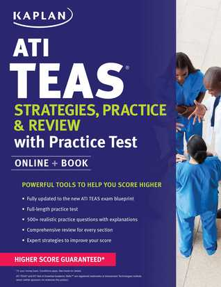 ATI TEAS Strategies, Practice  Review with 2 Practice Tests: Online + Book