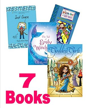 Series Mix for Girls : Goddess Girls #1, Athena the Brain; the Tail of Emily Windsnap; Amazing Days of Abby Hayes #5; My Sister the Vampire; Just Grace Goes Green; American Girl Talk Time Questions (An Unofficial Box Set)