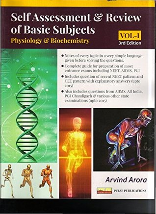 Self Assessment & Review of Basic Subjects, Vol-I: Physiology & Biochemistry