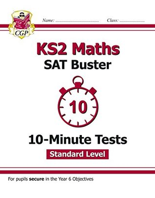 New KS2 Maths Targeted SAT Buster 10-Minute Tests - Standard