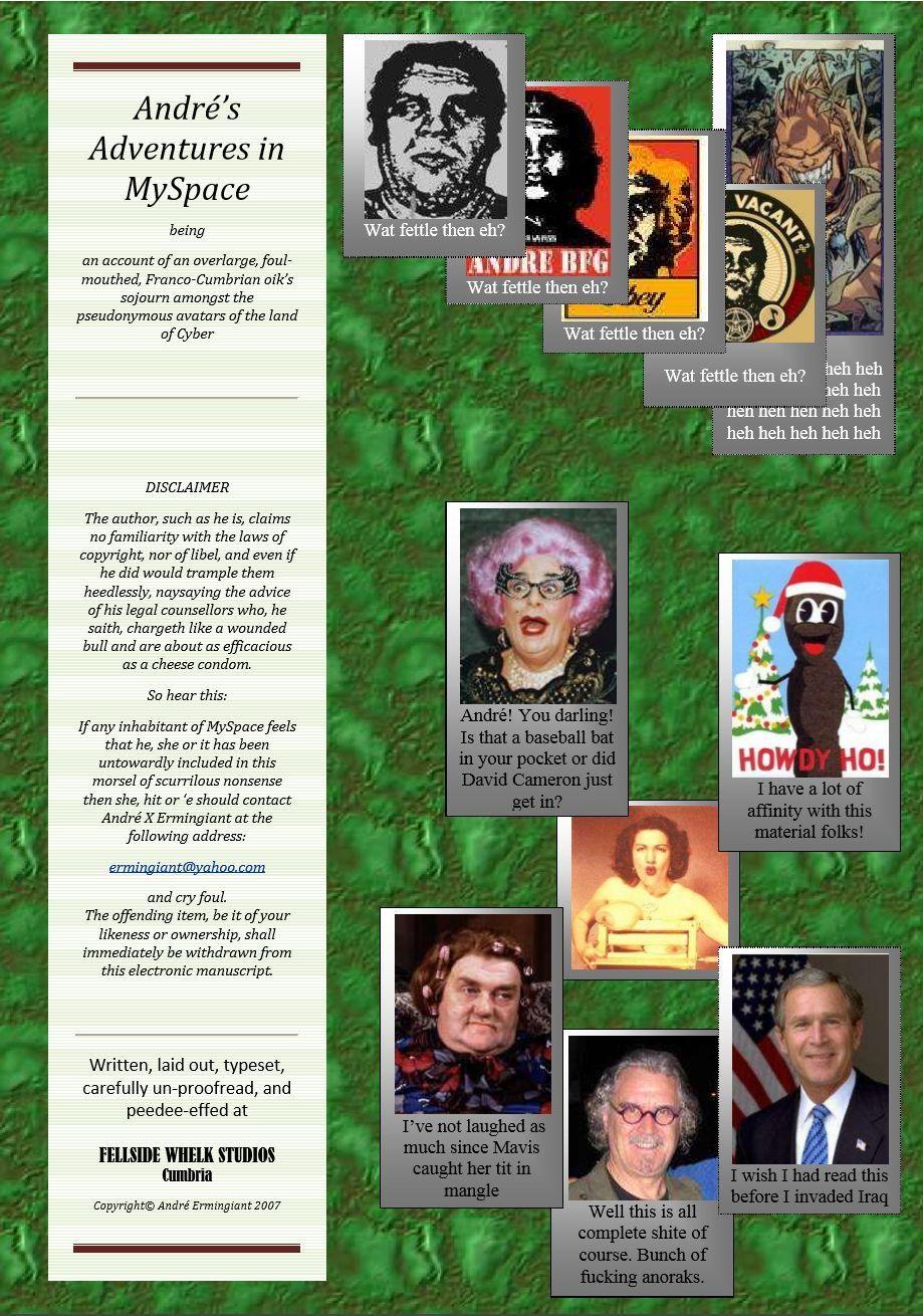 Andre's Adventures in MySpace (Book 1)
