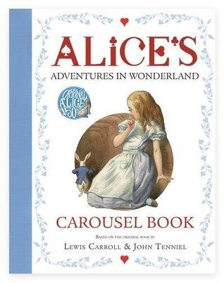 Alices Adventures in Wonderland Carousel Book