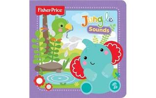 Fisher-Price 3D Board Book: Jungle Sounds