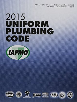 2015 Uniform Plumbing Code Soft Cover
